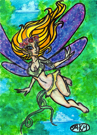 Jacie - Fairy ACEO by alyssakay