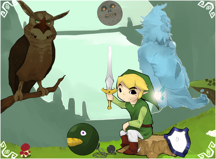 Zelda: A tribute to remember by PeteyXkid