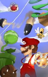 Mario: Back to Retro by PeteyXkid