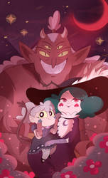 Monster Family by ColorHarmonypeeps