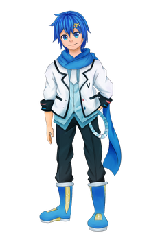 Vocaloid Class Picture Collaboration: Kaito