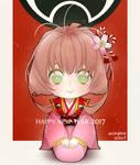 FANART: Sakura Kinomoto [Happy New Year 2017]
