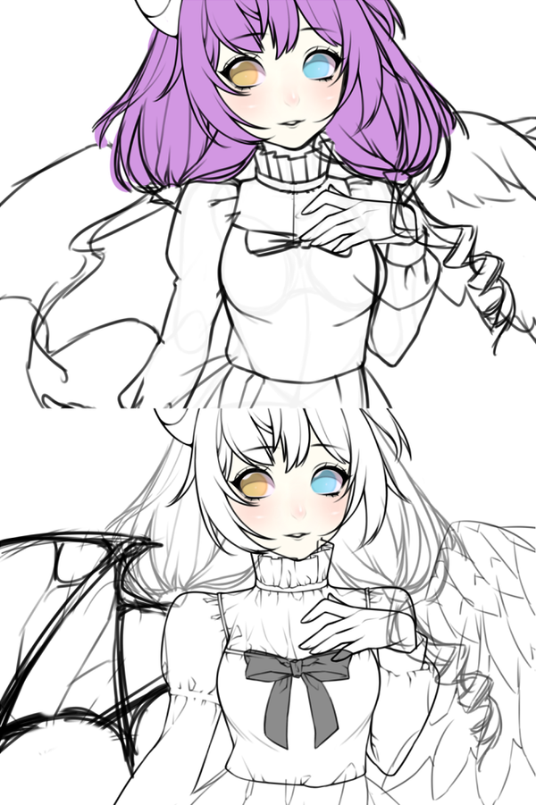 commission wip by archylea