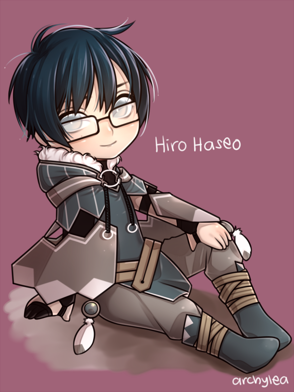 Hiro Haseo by archylea
