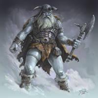 Frost Giant by danielsyzygy