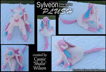 Pokeplush Sylveon by Shalie