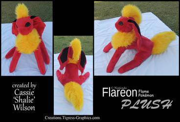 Pokeplush Flareon by Shalie