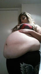 Big Bloated Babe by FGFan