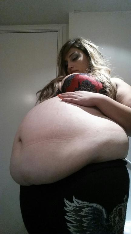 Bbw Belly Stuffing Bloating