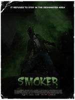 SMOKER mock movie poster - L4D by The-Loiterer