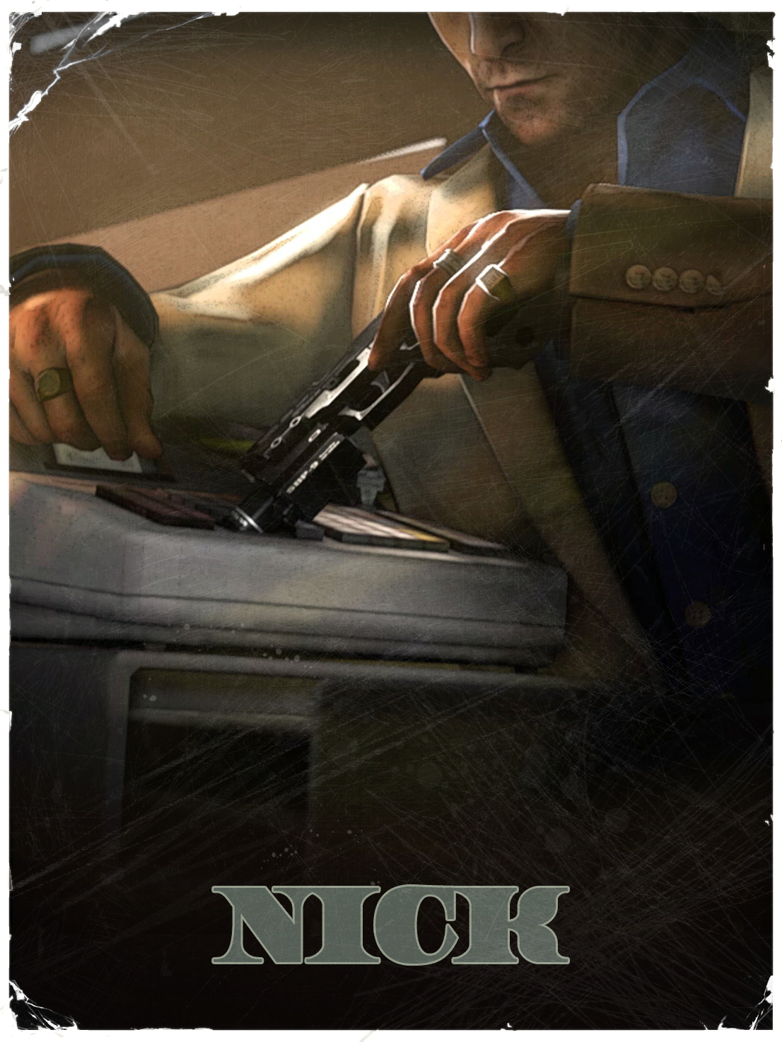 YOU IN l4d2 Nick___L4d2_vintage_poster_by_The_Loiterer