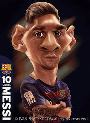 Messi by bambanob