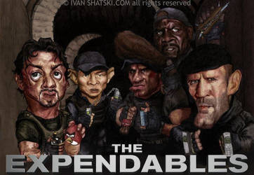 The Expendables by bambanob