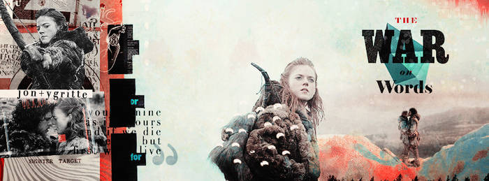 'Jon x Ygritte', Facebook Cover | Winterowl