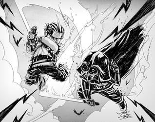 Hayato Vs Vader New by romidion