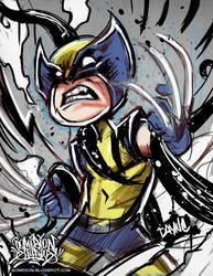5DA2 Day 2 Wolverine by romidion
