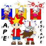 Ape Escape MS Paint