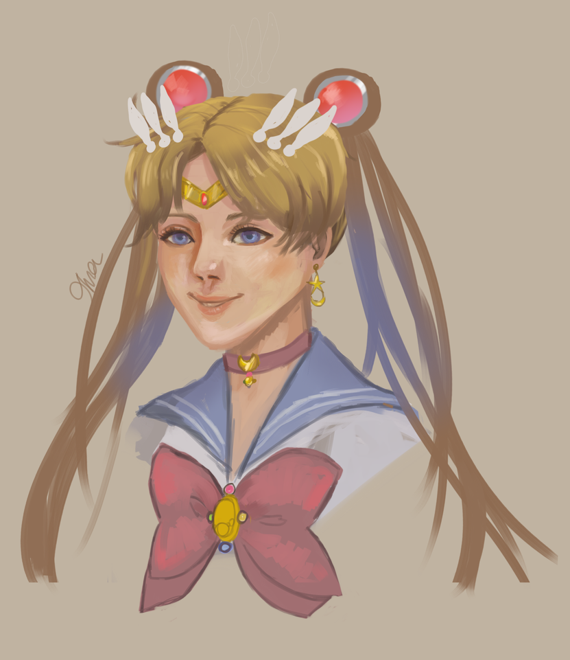 Sailormoon Sketch by SharSharX