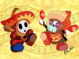 Sombrero Buddies by MrNerdling