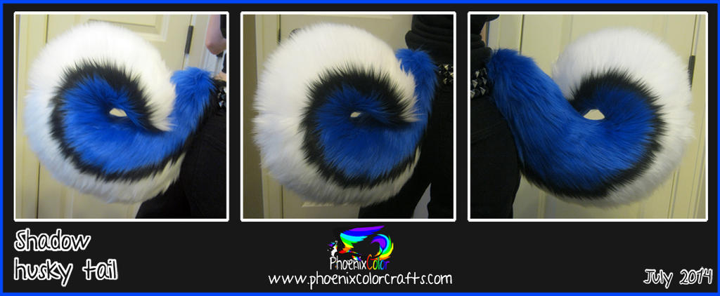 Shadow husky tail by PhoenixColor on DeviantArt