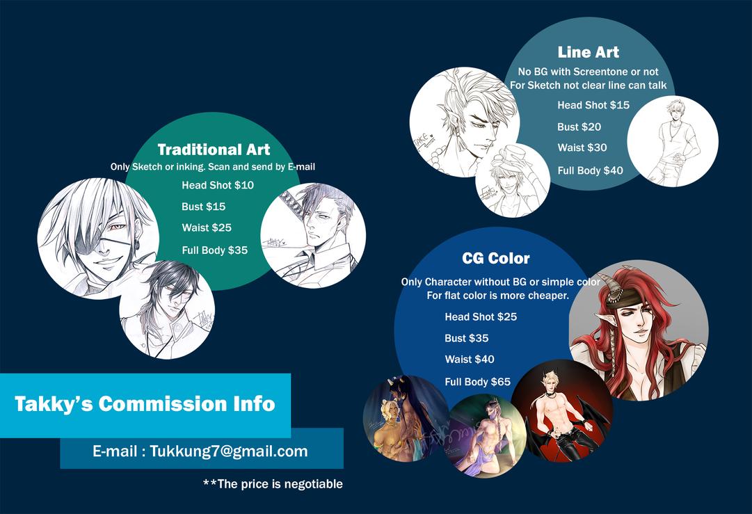 Commission Info by Alizena
