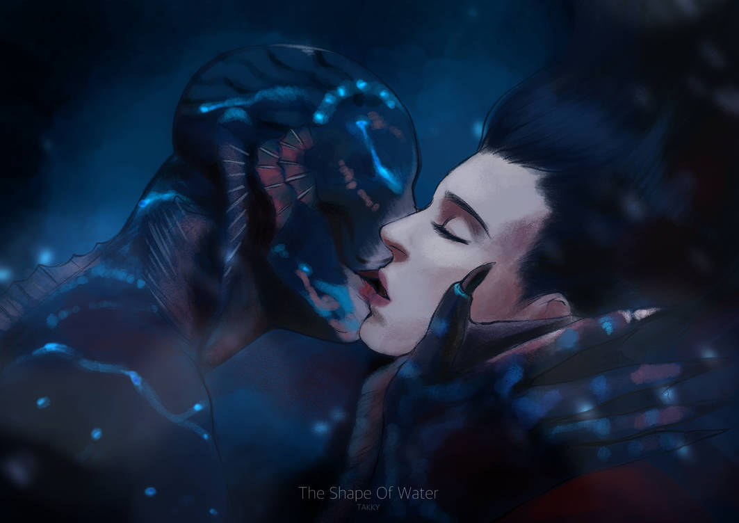 The shape of water by Alizena