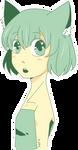 Green Kitty by Anarkeru