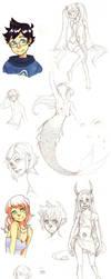 Sketch Dump 2 by Anarkeru