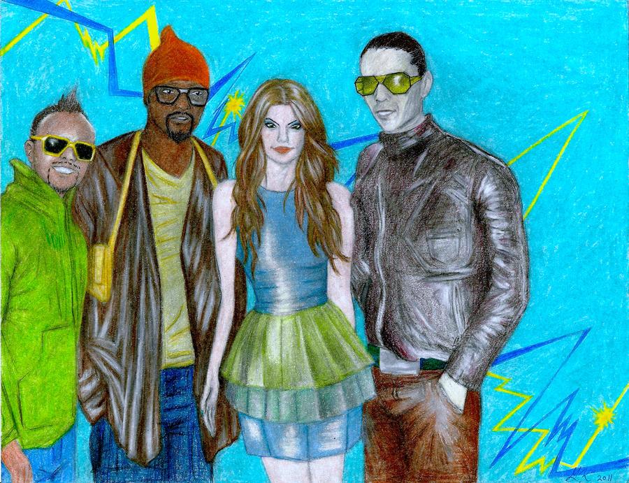 Black Eyed Peas by scarlet-45