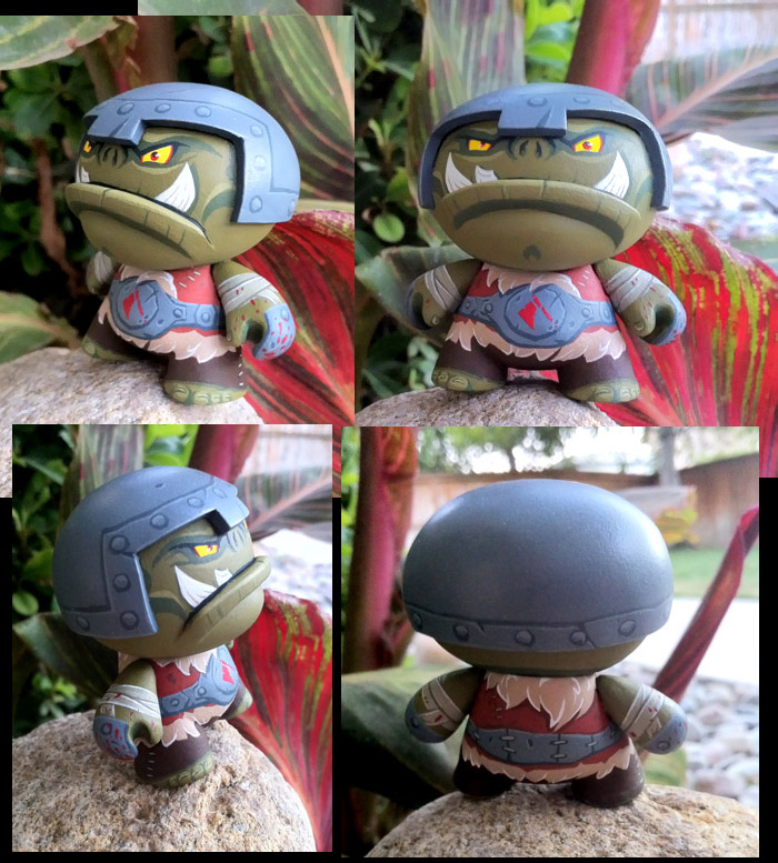 Badduk the orc custom dunny by Timbone