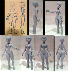 'Sheelah' Custom Toy Platform by Timbone