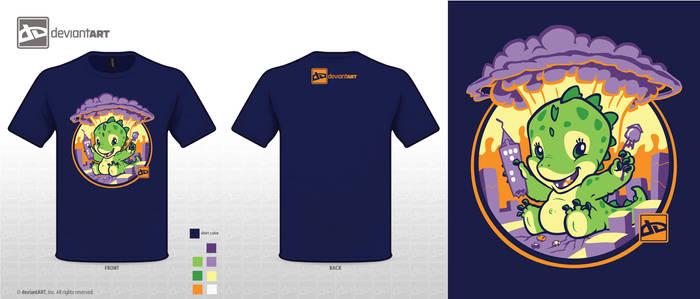 Gagazillie in Adorable Apocaylpse redo DA logo