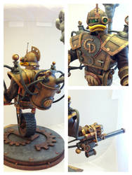 Steampunk GizmoDuck details by Timbone