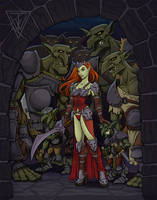 The Goblin Queen: Knock, knock by Timbone