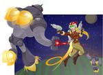 When Space-Nazi Robots Attack