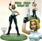 Abbey Chase Danger Girl sculpt