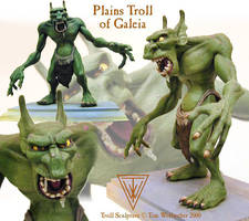 Troll sculpture by Timbone