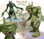 Troll sculpture