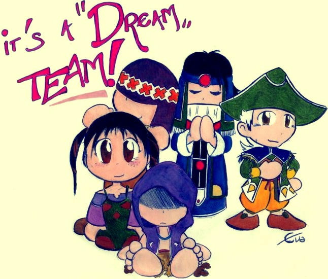 'Dream' Team by crimsontriforce