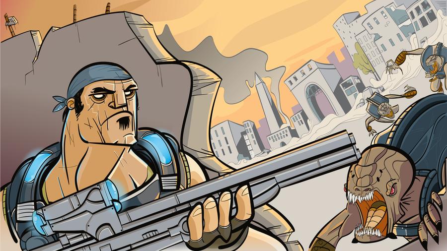 Gears of War by creatorofall