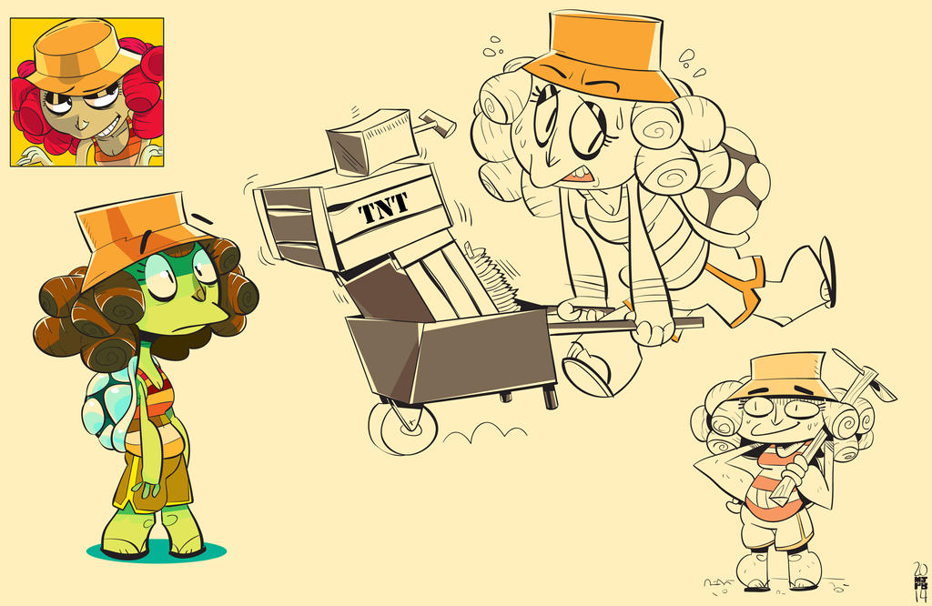 Turtle Girl by creatorofall