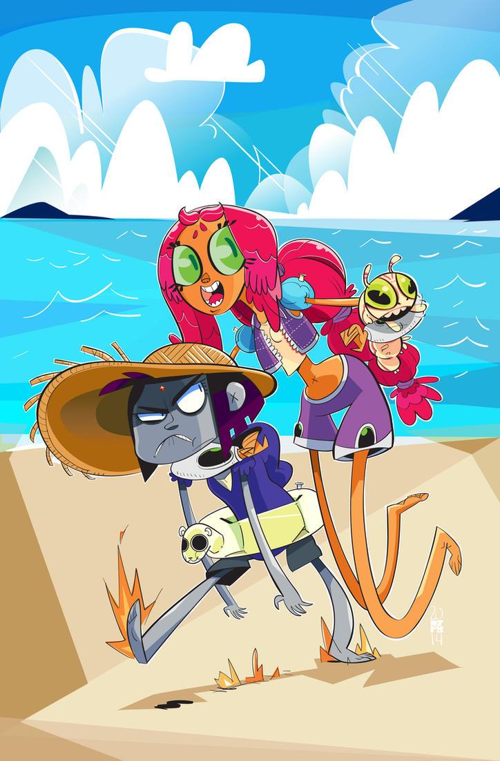 Beach Buddies by creatorofall
