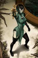 Banshee Prime, Soprana by iurypadilha by TheBurning1