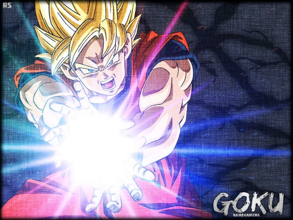 Goku Super Saiyan .:KAMEHAMEHA:. by Ray-Striker