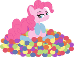 Pinkie Pie playfully... PNG