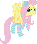 Fluttershy fearless... PNG