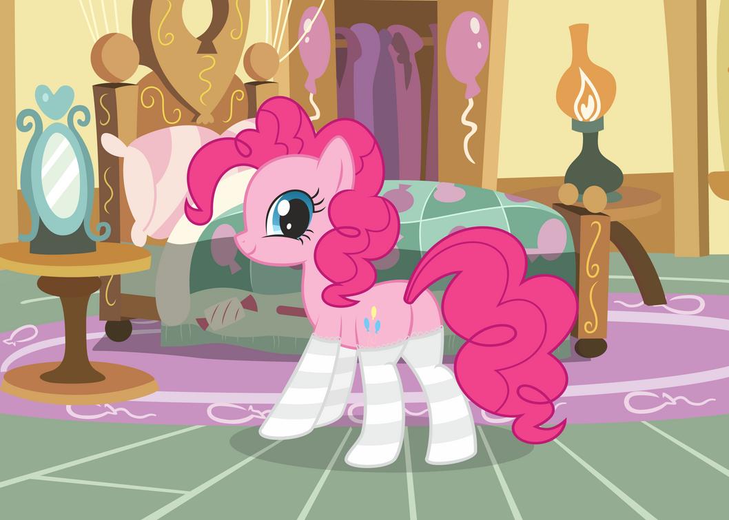 Pinkie Pie eager by leopurofriki