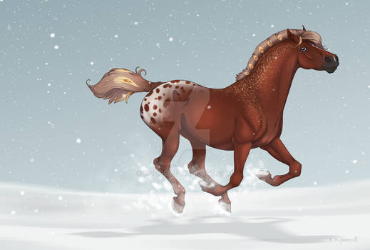 An Ember in the Snow