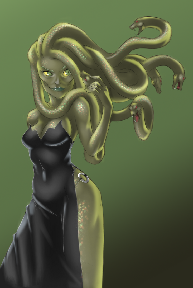 Medusa by dharry2325