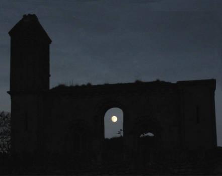 Glastonbury Moon